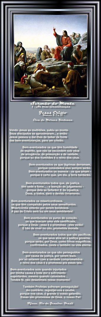 SERMAODOMONTE 3 As bem-aventuranças - Elen de Moraes Kochman